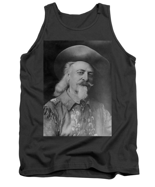 Tank Top featuring the photograph Buffalo Bill Cody by Charles Beeler