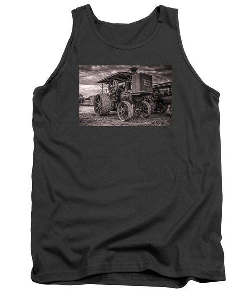 Buffalo Pitts Steam Traction Engine Tank Top by Shelly Gunderson