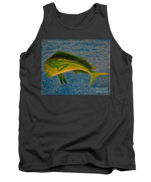 Bull Dolphin Mahimahi Fish Tank Top