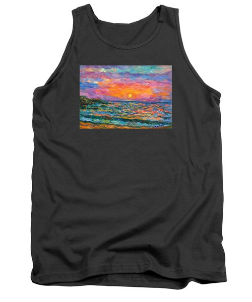 Burning Shore Tank Top