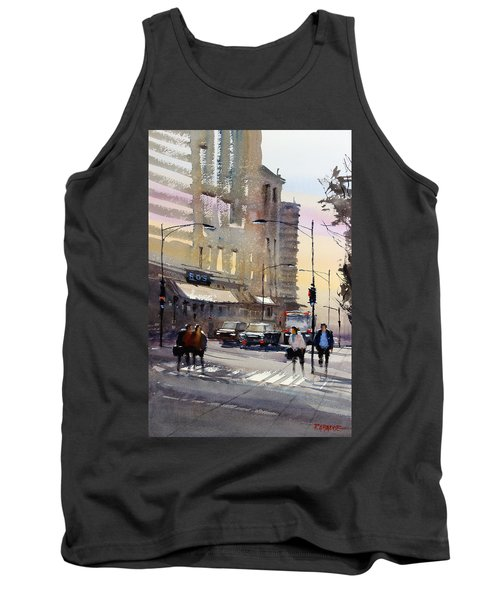 Bus Stop - Chicago Tank Top