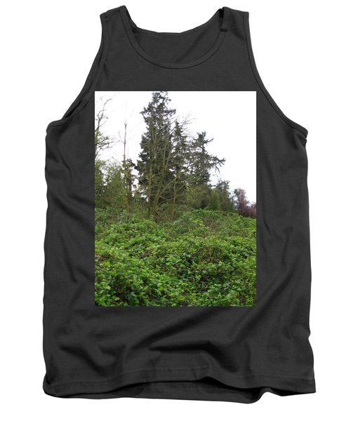 Bus Stop Greenbelt Tank Top by David Trotter