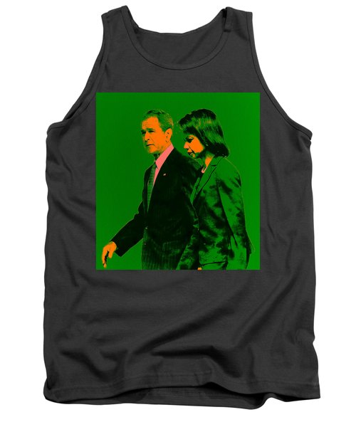 Bush And Rice Tank Top by Brian Reaves