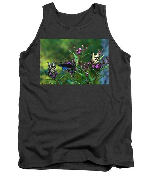 Butterflies Three Tank Top
