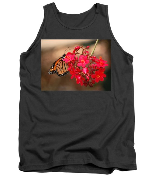 Tank Top featuring the photograph Butterfly 1 by Leticia Latocki