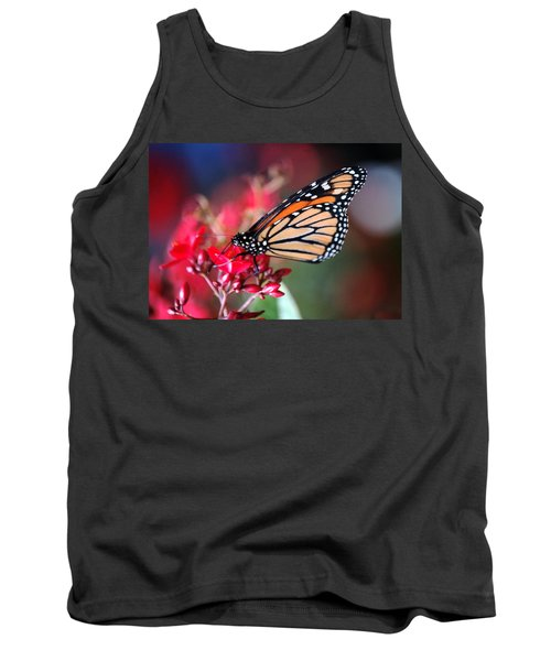 Tank Top featuring the photograph Butterfly 2 by Leticia Latocki
