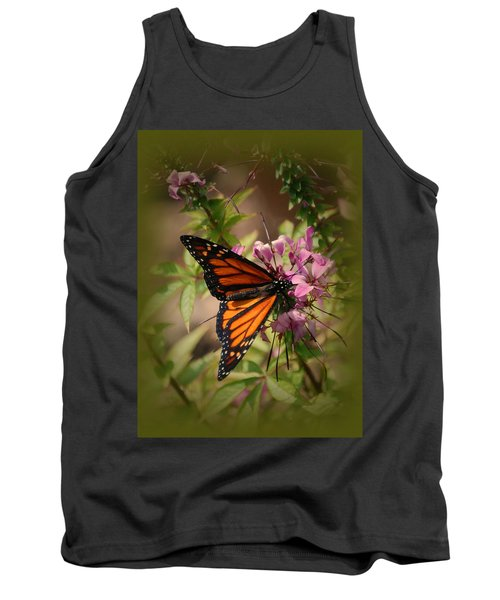 Tank Top featuring the photograph Butterfly 5 by Leticia Latocki