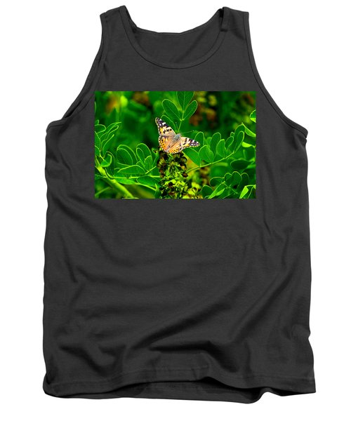 Butterfly In Paradise Tank Top