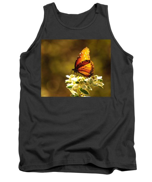 Butterfly In Sun Tank Top