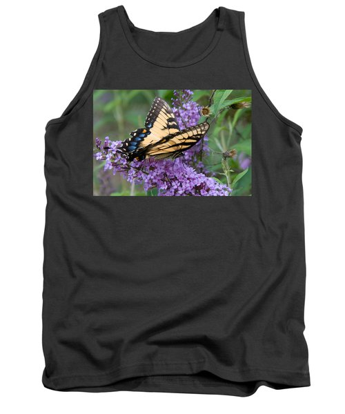 Butterfly Landing Tank Top by Greg Graham
