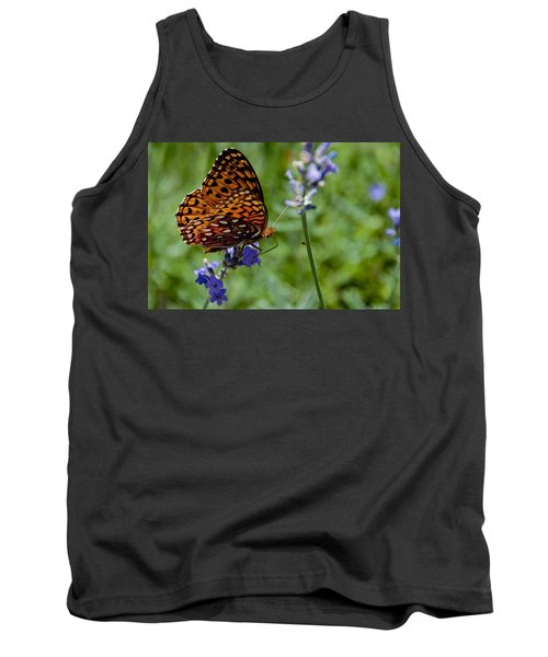Butterfly Visit Tank Top