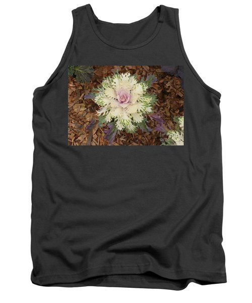 Cabbage Rose Tank Top