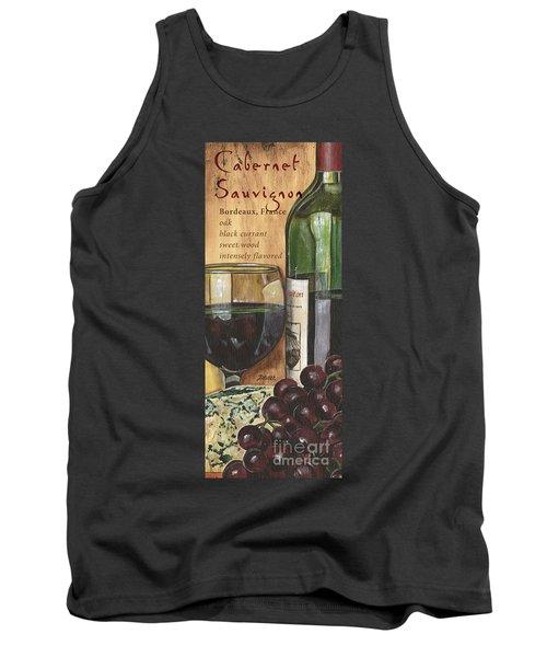 Cabernet Sauvignon Tank Top by Debbie DeWitt
