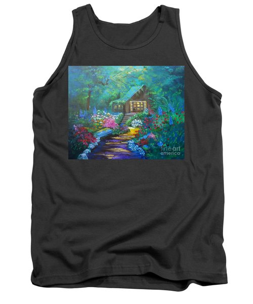 Cabin In The Woods Jenny Lee Discount Tank Top
