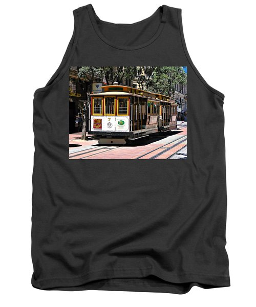 Cable Car - San Francisco Tank Top