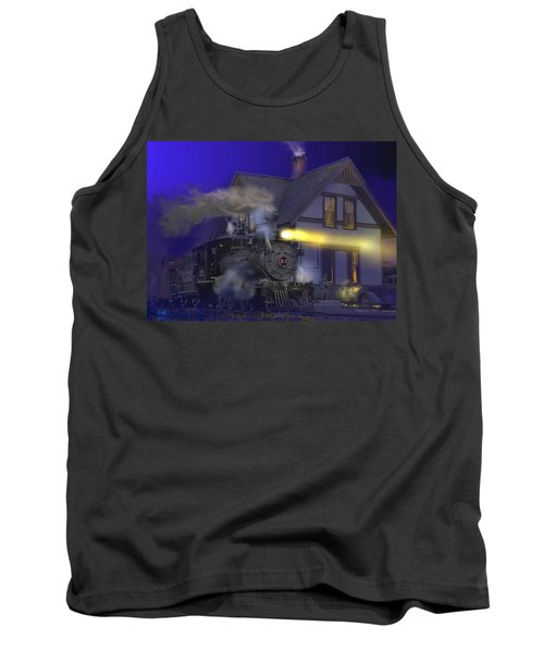 Caboose Hop At Dolores Colorado Tank Top by J Griff Griffin