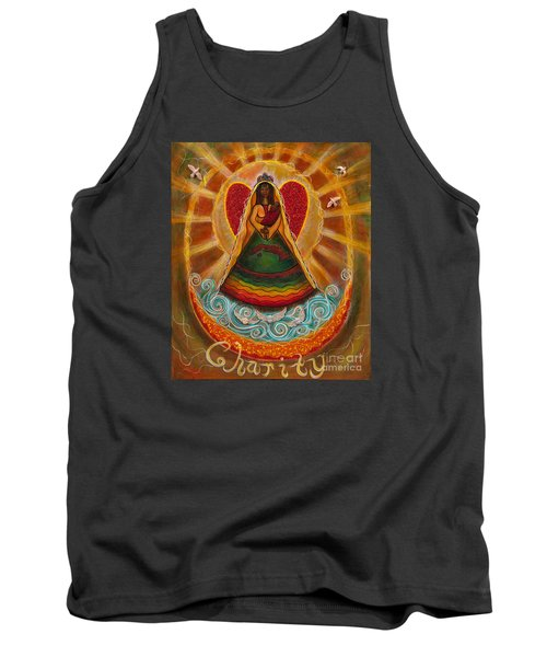 Tank Top featuring the painting Cachita Madonna by Deborha Kerr
