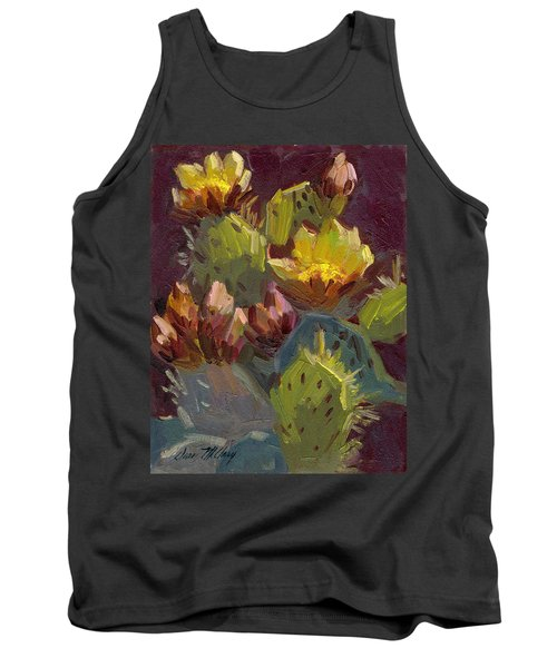 Cactus In Bloom 1 Tank Top