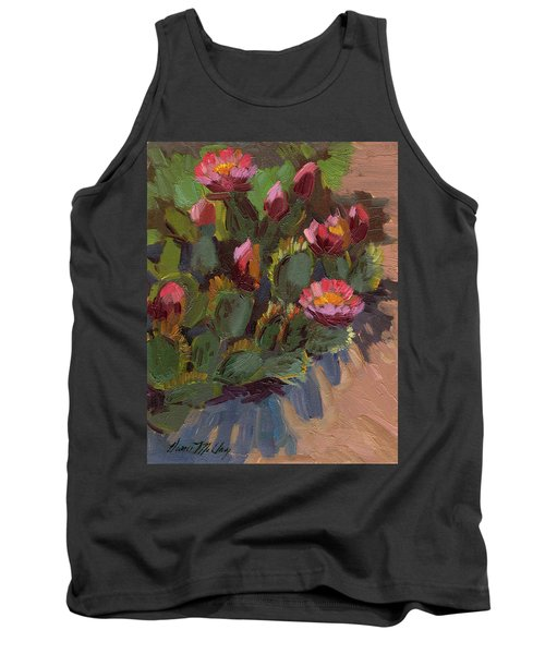Cactus In Bloom 2 Tank Top