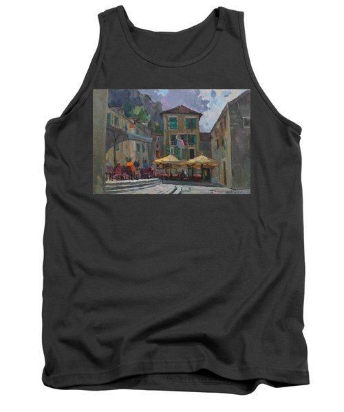 Cafe In Old City Tank Top