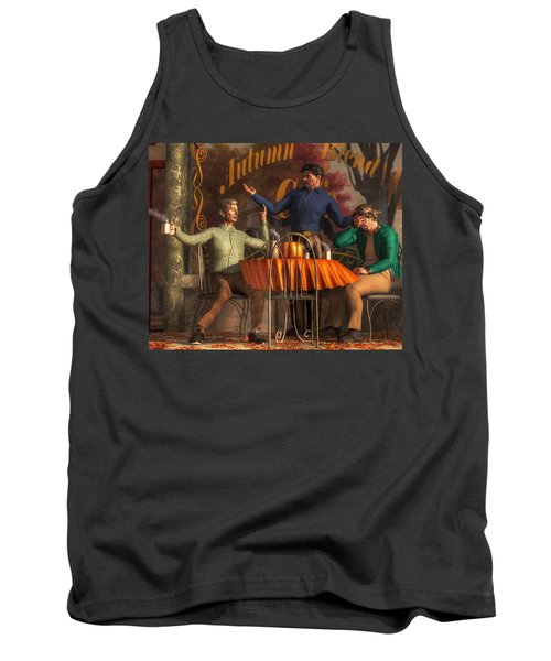 Cafe Philosophy Tank Top