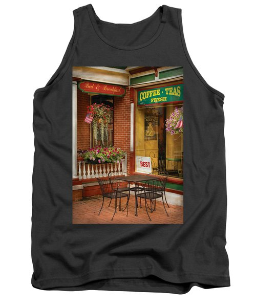 Cafe - The Best Ice Cream In Lancaster Tank Top
