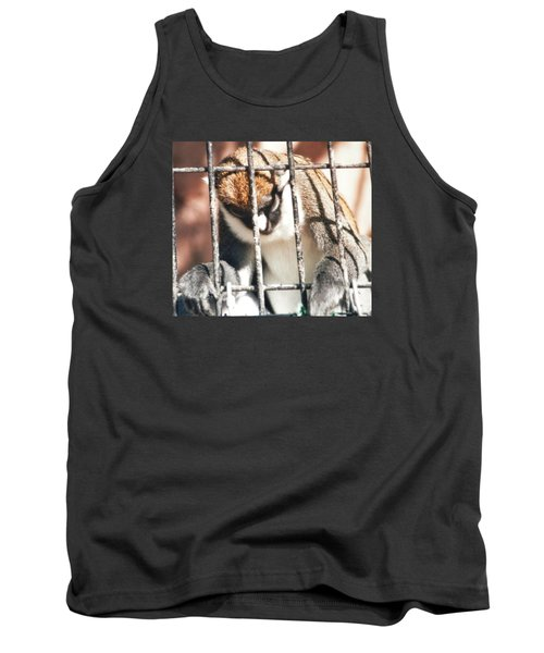 Caged But Strong Tank Top by Belinda Lee