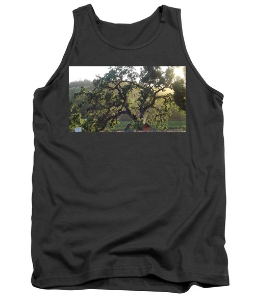 Tank Top featuring the photograph Cali Setting by Shawn Marlow