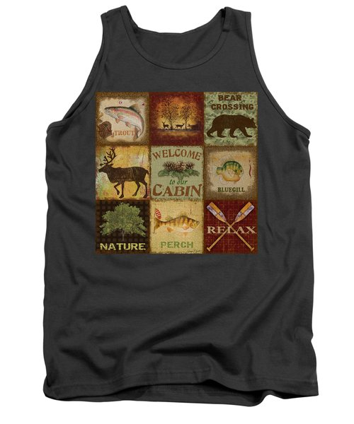 Call Of The Wilderness Tank Top by Jean Plout