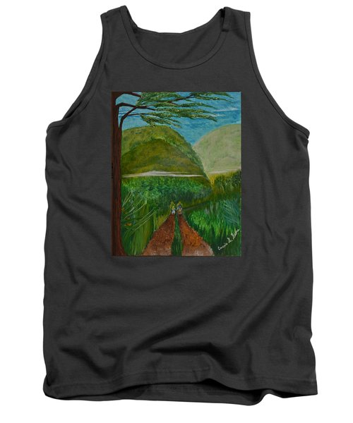 Tank Top featuring the painting Called To The Mission Field by Cassie Sears
