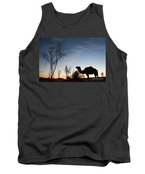 Camel Sunset Tank Top