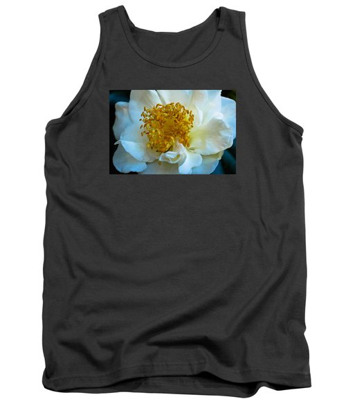 Tank Top featuring the photograph Camellia by Julie Andel