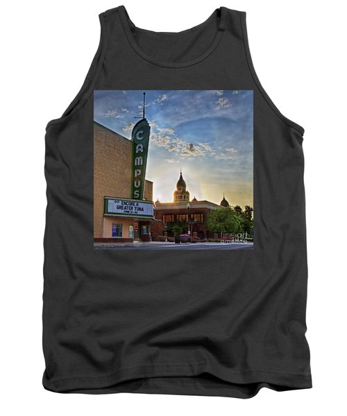 Campus At Sunrise Tank Top by Gary Holmes