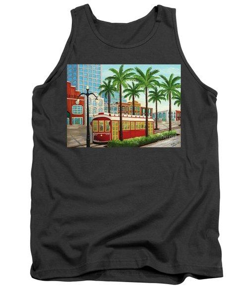 Canal Street Car Line I I Tank Top