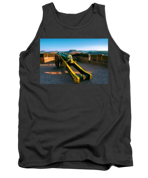 Cannon At The Fortress Koenigstein Tank Top