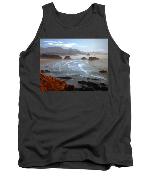 Cannon Beach At Sunset Tank Top