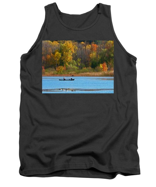 Canoer 2 Tank Top by Aimee L Maher Photography and Art Visit ALMGallerydotcom