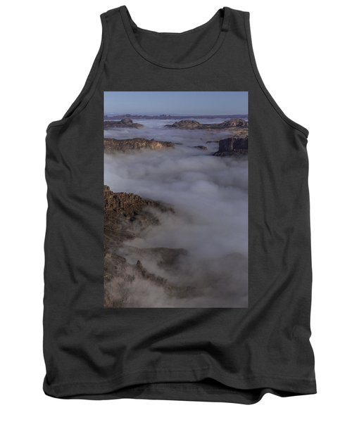 Canyon Rims Float In Fog Tank Top