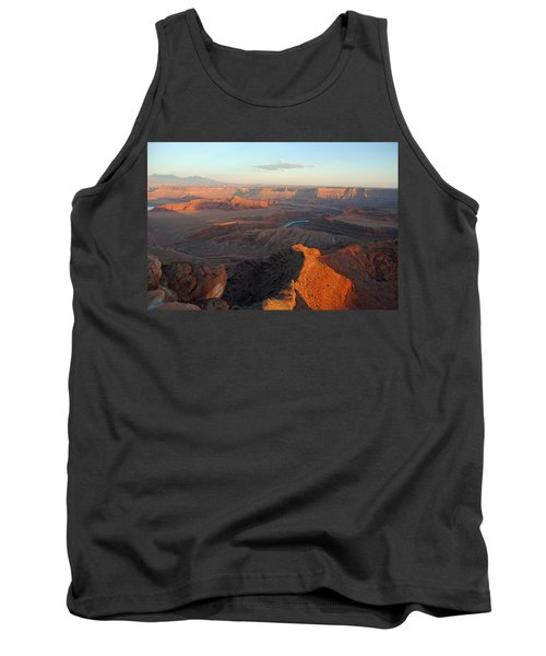 Tank Top featuring the photograph Canyonlands Np Dead Horse Point 21 by Jeff Brunton
