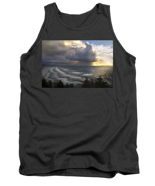 Sunset At Cape Lookout Oregon Coast Tank Top