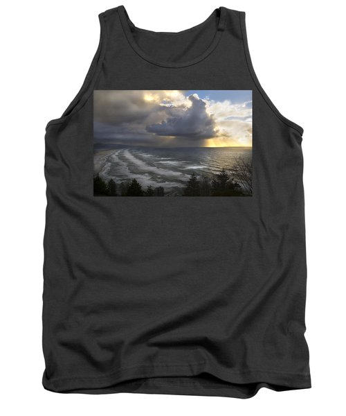 Sunset At Cape Lookout Oregon Coast Tank Top