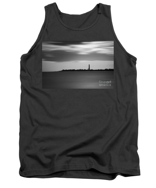 Cape May Lighthouse Long Exposure Bw Tank Top