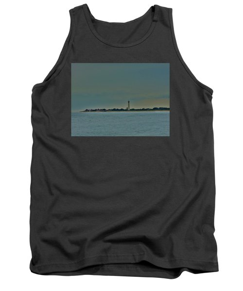 Cape May Point Tank Top by Ed Sweeney