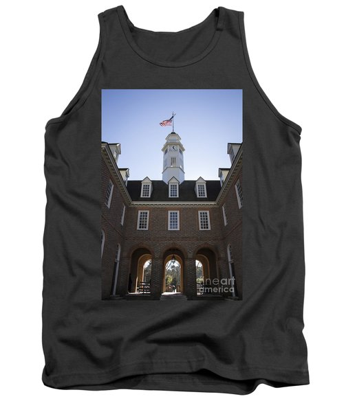 Capitol Arch Rear View Tank Top