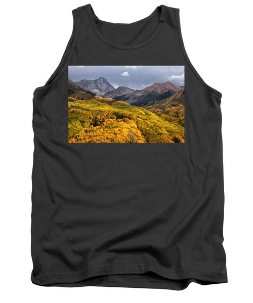 Capitol Peak In Snowmass Colorado Tank Top