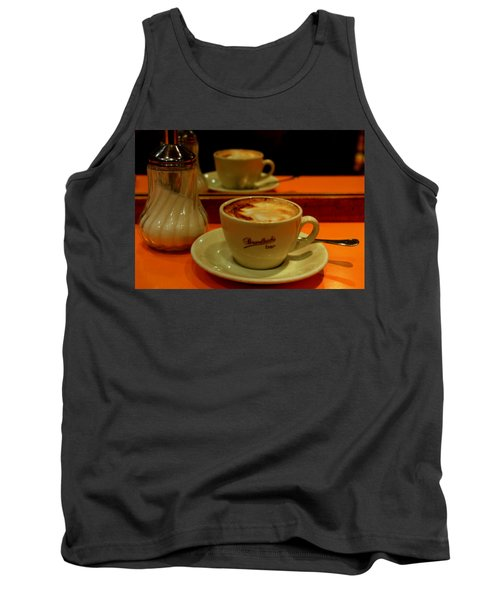 Tank Top featuring the photograph Cappuccino by Caroline Stella