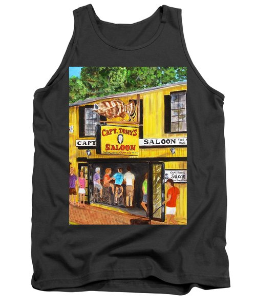 Capt. Tony's Lucky Shot Tank Top