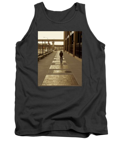 Tank Top featuring the photograph Cardinals' Walk Of Fame by Jane Eleanor Nicholas