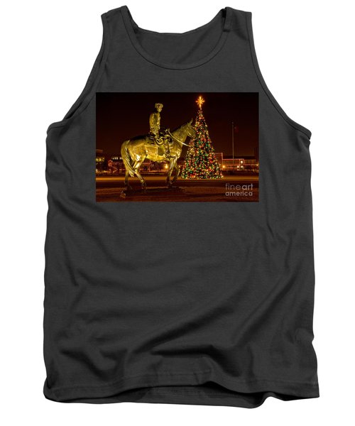 Tank Top featuring the photograph Carol Of Lights by Mae Wertz