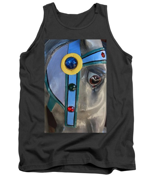 Tank Top featuring the photograph Carousel Horse by Diane Alexander